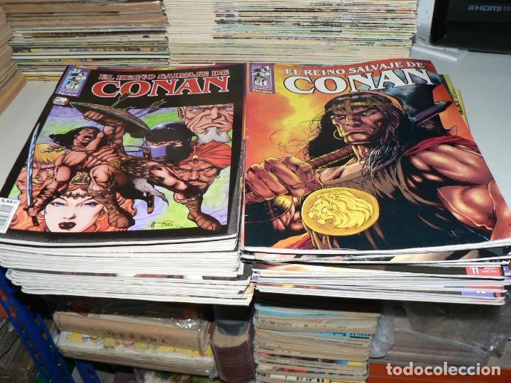 EL REINO SALVAJE DE CONAN COLECCION COMPLETA (Tebeos y Comics - Tebeos Colecciones y Lotes Avanzados)