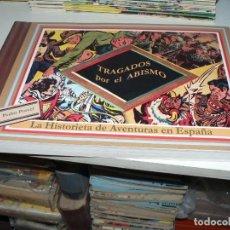 Tebeos: TRAGADOS POR EL ABISMO. LA HISTORIETA DE AVENTURAS EN ESPAÑA (DE PONENT) - PEDRO PORCEL. Lote 277726693