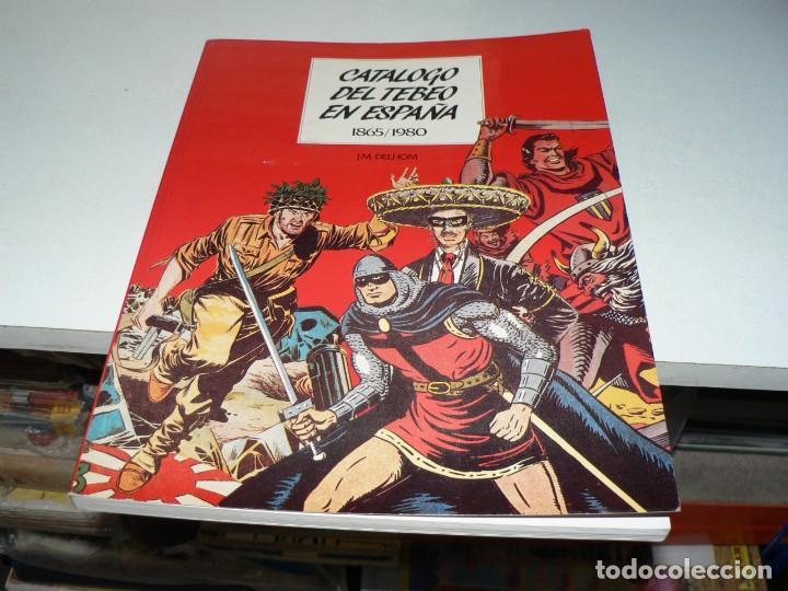 CATALOGO DEL TEBEO EN ESPAÑA (Tebeos y Comics - Tebeos Colecciones y Lotes Avanzados)