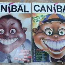 Tebeos: LOTE 2 COMICS CANIBAL. Lote 277259468