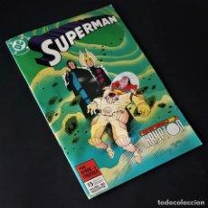 Tebeos: SUPERMAN, Nº 45 - DC/ZINCO (1987 - 1996). Lote 284408953