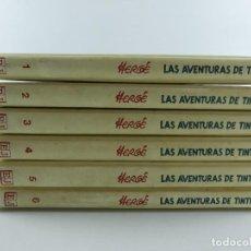 Livros de Banda Desenhada: COLECCION TINTIN 6 TOMOS HERGE ED JUVENTUD. Lote 284671668