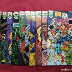 Livros de Banda Desenhada: TODD MCFARLANE. SPIDERMAN. CASI COMPLETA. 11 TOMITOS. FORUM.. Lote 285167698