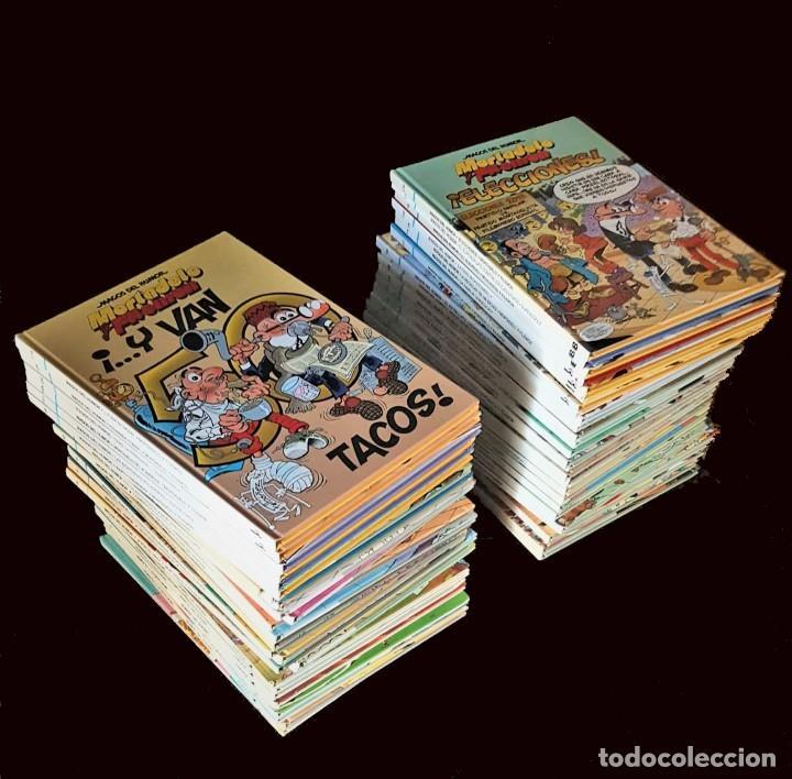 LOTE DE 55 TOMOS DE MAGOS DEL HUMOR (EXCELENTE ESTADO) - VER FOTOS Y NÚMEROS (SUELTOS PREGUNTAR) (Tebeos y Comics - Tebeos Colecciones y Lotes Avanzados)