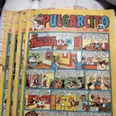 Livros de Banda Desenhada: LOTE TEBEOS PULGARCITO NÚMEROS 1450 1473 1490 1524 Y 1525. Lote 286222113