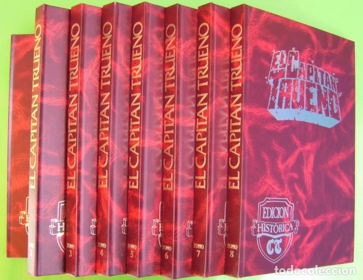 EL CAPITAN TRUENO. EDICION HISTORICA, 8 TOMOS (SIN USO) (Tebeos y Comics - Tebeos Colecciones y Lotes Avanzados)