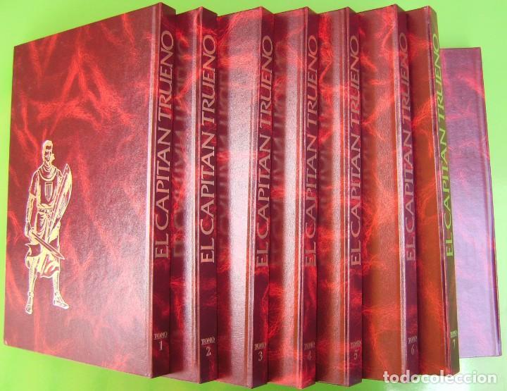 Tebeos: El Capitan Trueno. Edicion Historica, 8 tomos (Sin uso) - Foto 2 - 286344868