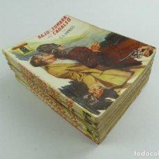 Livros de Banda Desenhada: LOTE DE NOVELAS DEL ENCAPUCHADO 13 UND.. Lote 286466713