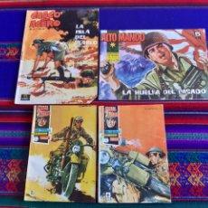 BDs: CASCO DE ACERO NºS 16 Y 17, CASCO DE ACERO EXTRA Nº 7 Y ALTO MANDO Nº 31 RESERVADOS.. Lote 286504333