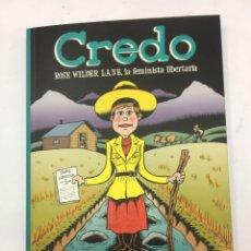 Tebeos: CREDO: ROSE WILDER LANE, LA FEMINISTA LIBERTARIA. Lote 287924708