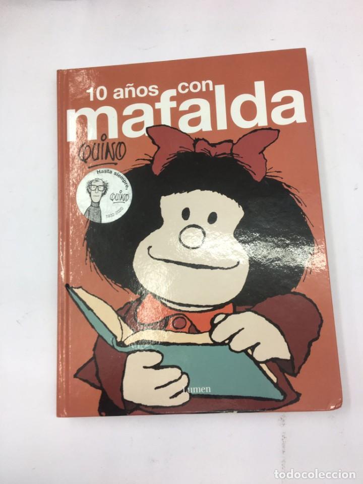 Tebeos: 10 año con mafalda, edicion lumen. - Foto 2 - 287928268