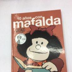 Tebeos: 10 AÑO CON MAFALDA, EDICION LUMEN.. Lote 287928348