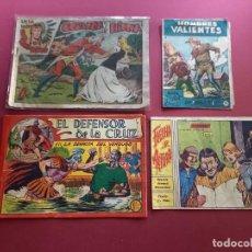 Livros de Banda Desenhada: 4 TEBEOS ORIGINALES -ANTIGUOS. Lote 287977098