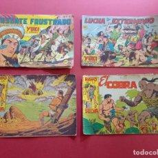 Livros de Banda Desenhada: 4 TEBEOS ORIGINALES -ANTIGUOS. Lote 287977133