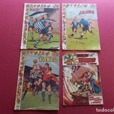 Livros de Banda Desenhada: 4 TEBEOS ORIGINALES -ANTIGUOS. Lote 287977168