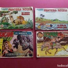 Livros de Banda Desenhada: 4 TEBEOS ORIGINALES -ANTIGUOS. Lote 287977223