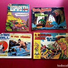 Livros de Banda Desenhada: 4 TEBEOS ORIGINALES -ANTIGUOS. Lote 287977283
