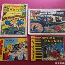 Livros de Banda Desenhada: 4 TEBEOS ORIGINALES -ANTIGUOS. Lote 287977358