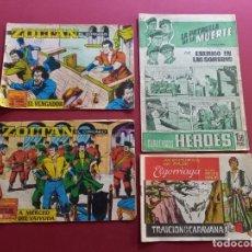 Livros de Banda Desenhada: 4 TEBEOS ORIGINALES -ANTIGUOS. Lote 287977403