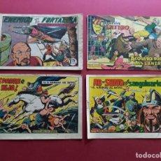 Livros de Banda Desenhada: 4 TEBEOS ORIGINALES -ANTIGUOS. Lote 287977553