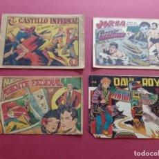 Livros de Banda Desenhada: 4 TEBEOS ORIGINALES -ANTIGUOS. Lote 287977693