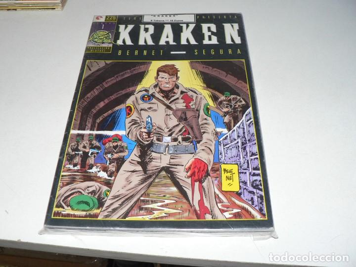 COLECCION DE KRAKEN (Tebeos y Comics - Tebeos Colecciones y Lotes Avanzados)
