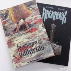Tebeos: LOTE COMICS LA SANGRE DE LAS VALKIRIAS Y RAGNAROK. Lote 288509298