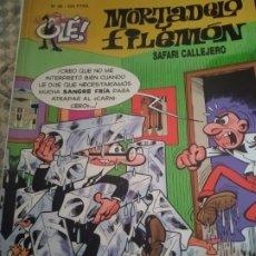 Livros de Banda Desenhada: MORTADELO Y FILEMON. Lote 288718398