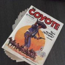 Tebeos: EL COYOTE - FORUM 1983 - ENTRE EL Nº 1 AL 24 / 15 NÚMEROS - VER DESCRIPCION. Lote 290887518