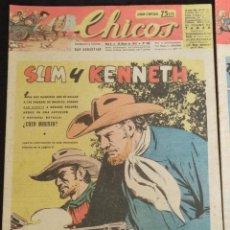 Giornalini: LOTE DE CHICOS - 18 ORIGINALES AÑO 1947 DEL N. 428 AL N.438 Y DEL 460 AL 466 CORRELATIVOS. Lote 293436508