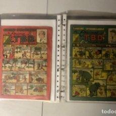 Tebeos: CUADERNOS EXTRAORDINARIOS TBO, 6 EJEMPLARES, AÑO 1948, (EDICIONES TBO), RAROS!!.. Lote 294137608