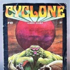 Tebeos: CYCLONE, Nº 8/9 - NUMERO DOUBLE - AÑO 1976/1977 - (COMIC FRANCES) DIFICILISIMO DE ENCONTRAR. Lote 294142823