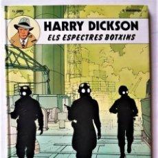 Tebeos: EXCELENTE - HARRY DICKSON, Nº 2: ELS ESPECTRES BOTXINS - EN CATALÁN. Lote 294146228