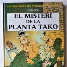 Tebeos: EXCELENTE - LES AVENTURES DEL PROFESSOR PALMERA: EL MISTERI DE LA PLANTA TAKO - EN CATALÁN. Lote 294147828