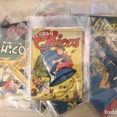 Tebeos: EL GRAN CHICOS, 22 NUEROS, AÑO 1945/1950, (GILSA), PRECIOSA DE VER!!. Lote 294147218