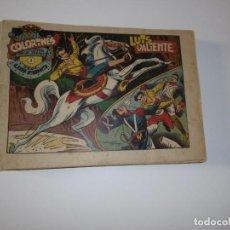Giornalini: LUIS VALIENTE - COLECCIÓN COMPLETA - ORIGINAL - 1957 - 24 NUMEROS. Lote 294998413