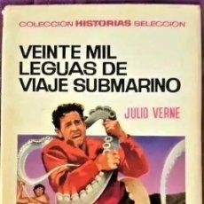 Tebeos: HISTORIAS SELECCIÓN, Nº 1 - 20.000 LEGUAS DE VIAJE SUBMARINO, EDIT. BRUGUERA (1967). Lote 295023373