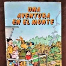 Tebeos: UNA AVENTURA EN EL MONTE - MINISTERIO DE AGRICULTURA, PESCA Y ALIMENTACIÓN (1982) - COMIC UNICO. Lote 295029883