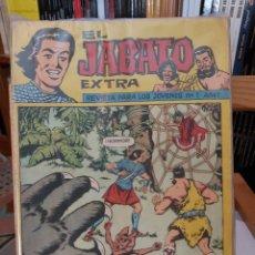 Tebeos: * EL JABATO EXTRA * BRUGUERA 1962 * ORIGINALES COMPLETA *. Lote 295545123