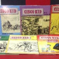 Tebeos: CISCO KID, 7 TEBEOS, COMPLETA, EDICIONES ART COMICS, IMPECABLES. Lote 296636513