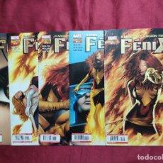 Tebeos: X-MEN. LA CANCIÓN FINAL DEL FÉNIX . COLECCION COMPLETA 5 EJEMPLARES. PANINI. Lote 296843188