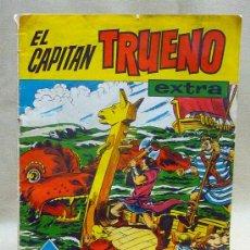 Tebeos y Cómics Extras: COMIC, EL CAPITAN TRUENO, EXTRA, ALMANAQUE 1961, EDITORIAL BRUGUERA,. Lote 23138272