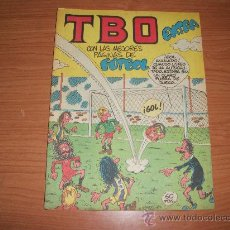 Tebeos y Cómics Extras: TBO EXTRA CON LAS MEJORES PAGINAS DE FUTBOL EDITORIAL BUIGAS ORIGINAL . Lote 98217994