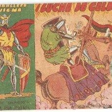 Tebeos y Cómics Extras: EL CABALLERO ENIGMA, AÑO 1.963. Nº 2. ORIGINAL EDITORIAL ACROPOLIS.. Lote 34912615