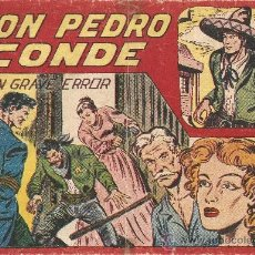 Tebeos y Cómics Extras: DON PEDRO CONDE, AÑO 1.956. Nº 9. ORIGINAL DIBUJANTE M. GAGO. EDITORIAL MAGA.. Lote 36142049