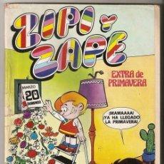 Tebeos y Cómics Extras: ZIPI Y ZAPE, EXTRA DE PRIMAVERA 1977 - BRUGUERA | CONSERVA PÓSTER CENTRAL. Lote 50154113