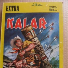 Tebeos y Cómics Extras: KALAR DE BOIXHER NUMERO EXTRA CON 122 PAGINAS 1967. Lote 54049387