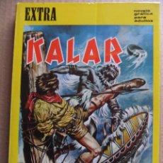 Tebeos y Cómics Extras: KALAR DE BOIXHER NUMERO EXTRA CON 128 PAGINAS 1967. Lote 54049455