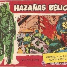Tebeos y Cómics Extras: HAZAÑAS BÉLICAS, 2ª SERIE, AÑO 1.950. Nº 319. ORIGINAL, ÚLTIMO DE LA COLECCIÓN. EDITORIAL TORAY.. Lote 62410312