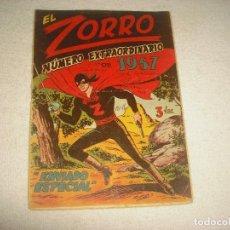 Tebeos y Cómics Extras: EL ZORRO . NUMERO EXTRAORDINARIO DE 1957 . ENVIADO ESPECIAL ED . FERMA . ORIGINAL. Lote 65917178